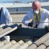 El peligro de retirar uralita con amianto
