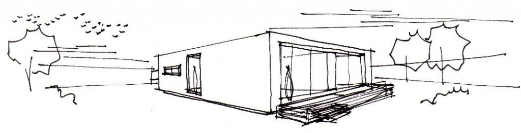 Boceto y estudio de necesidades Casa Modular Vitale Loft