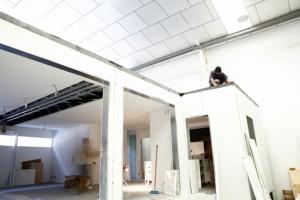 Ambiente controlado de construcción