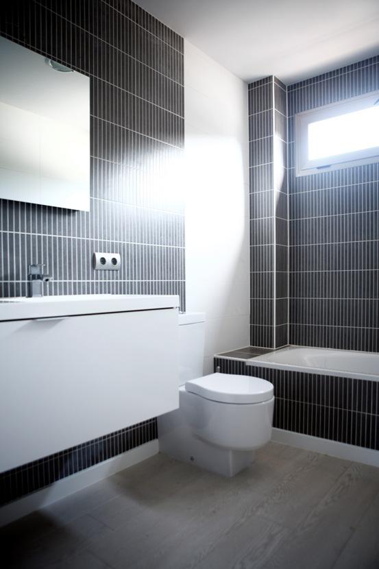 Baños con mobiliario Saloni en Vitale Loft