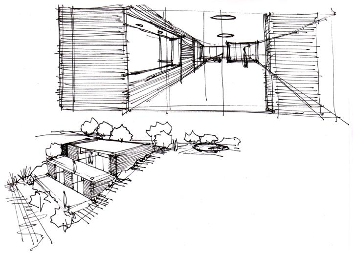 Boceto casa INNOVA Vitale Loft