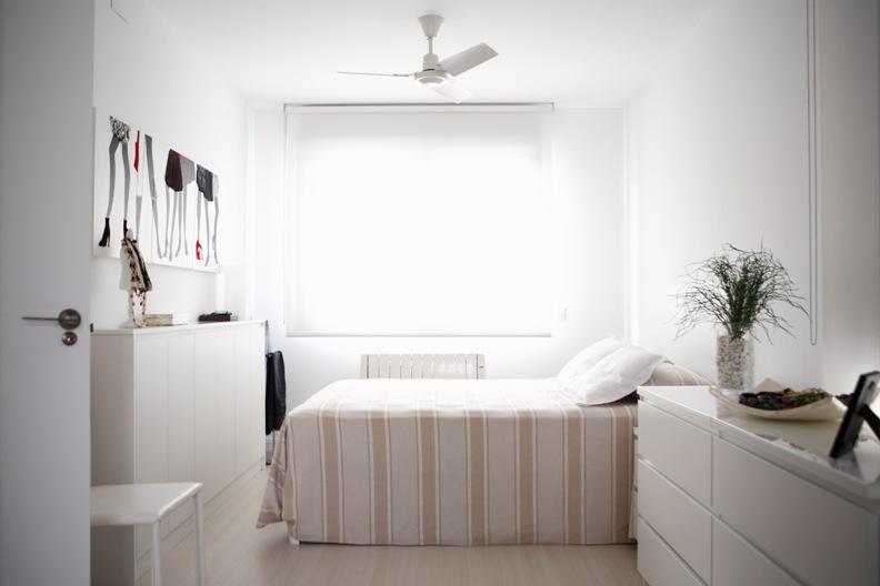 Habitación interior de casa modular Vitale Loft
