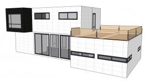 Modelo INNOVA 250 m2 Vitale Loft Distribución B