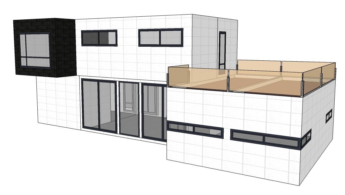 Modelo de casa innova de 250 m2 distribuci n b vitale loft - Distribucion casa ...