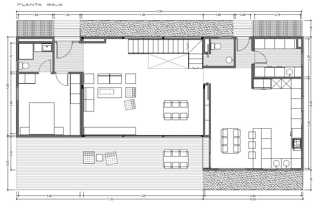 Modelo de casa innova de 250 m2 distribuci n a vitale loft for Distribucion de una casa moderna