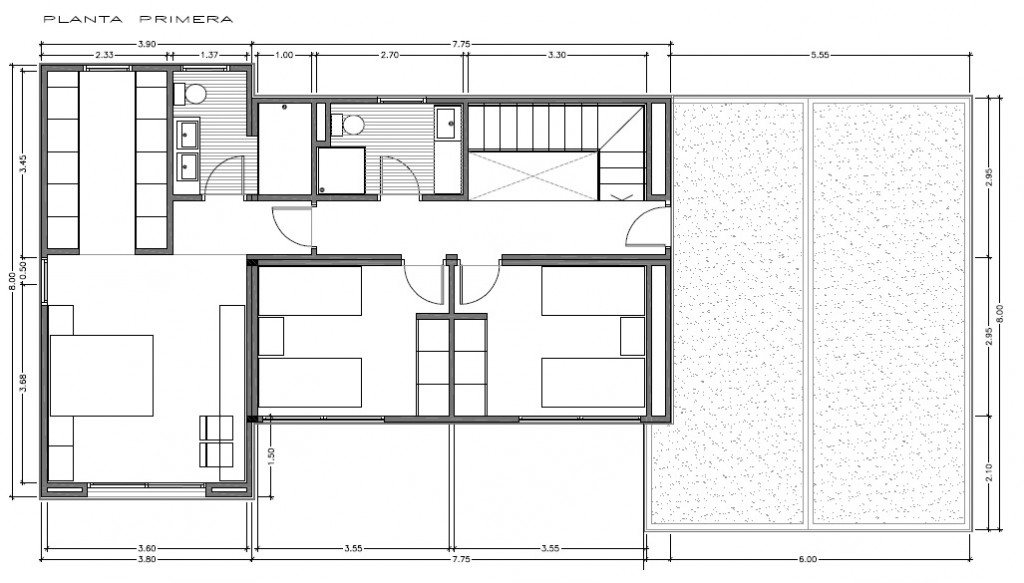 Plano_planta primera INNOVA 250 m2