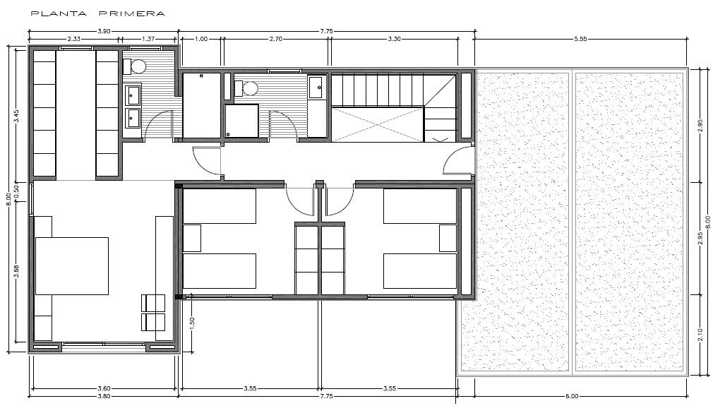 Casas prefabricadas y viviendas modulares modelos innova for Distribucion de una casa de una planta