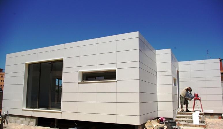 Casas prefabricadas de dise o barcelona desde 126 m2 - Casas prefabricadas de diseno precios ...