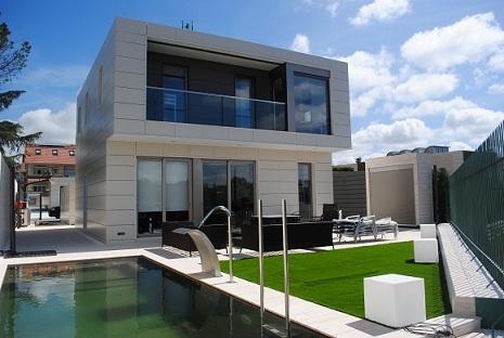 Casas prefabricadas en madrid vitale loft for Casas prefabricadas modernas