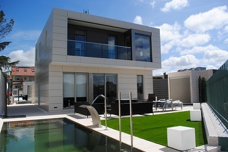 Casas prefabricadas y viviendas modulares construccion de - Casas minimalistas en espana ...