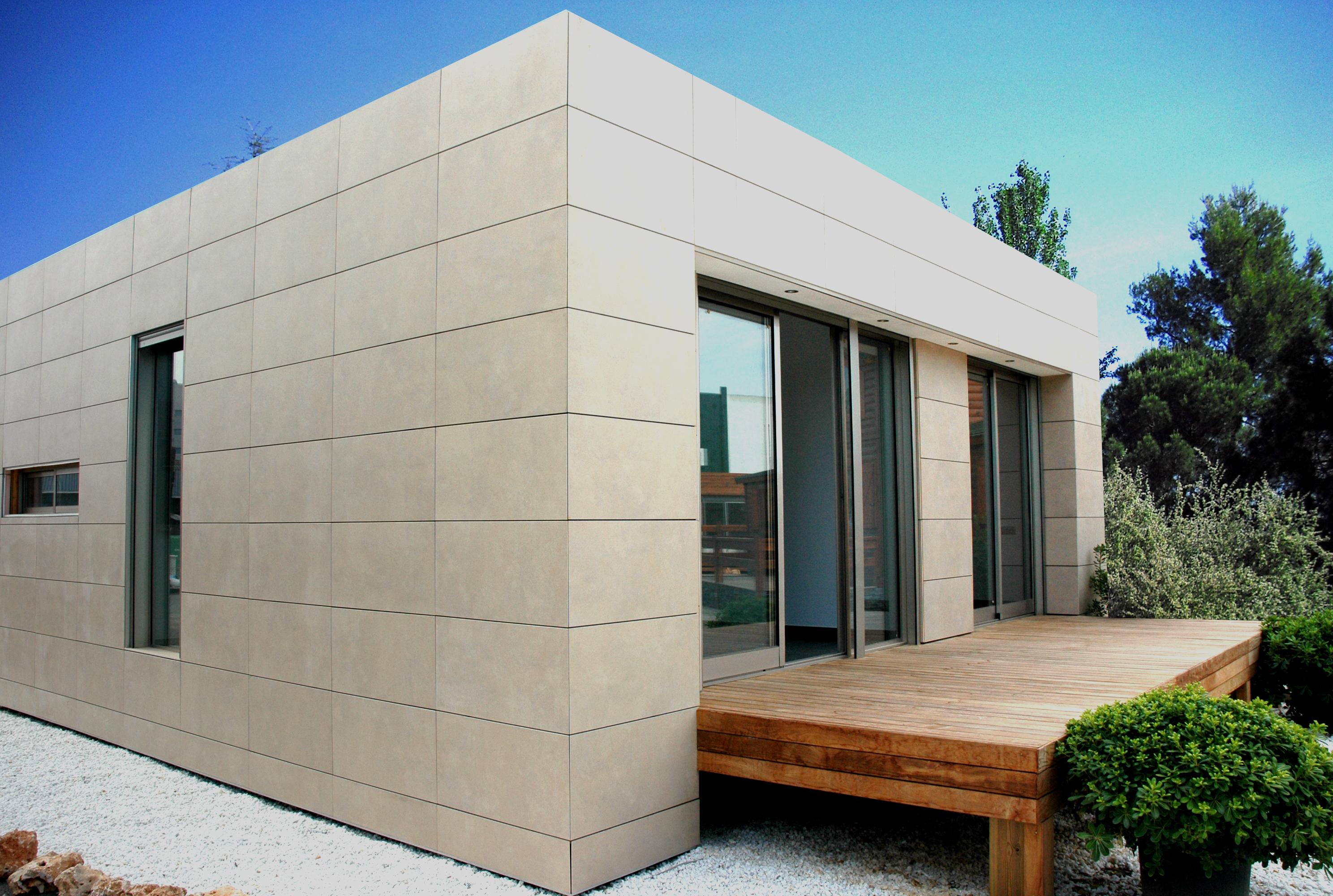 Casa de madera casas prefabricadas foto casa modelo alpina - Modelos de casas prefabricadas ...