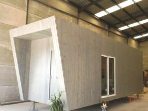 Casa prefabricada de 32 m2
