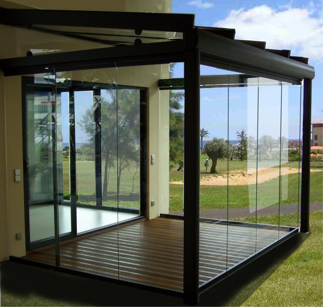 Una terraza de tico con m xima utilidad cerramientos abatibles vitale loft - Cerramientos de terrazas de aticos ...