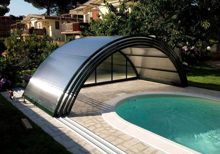 Cubrir piscina de exterior