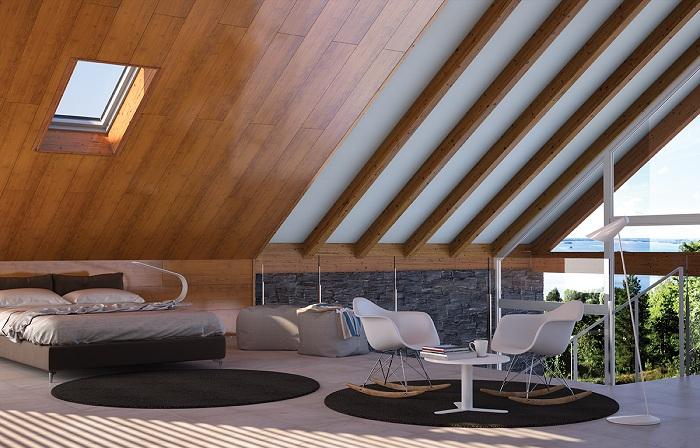 Lana de roca el mejor aislante con thermochip vitale loft - Paneles aislantes decorativos ...